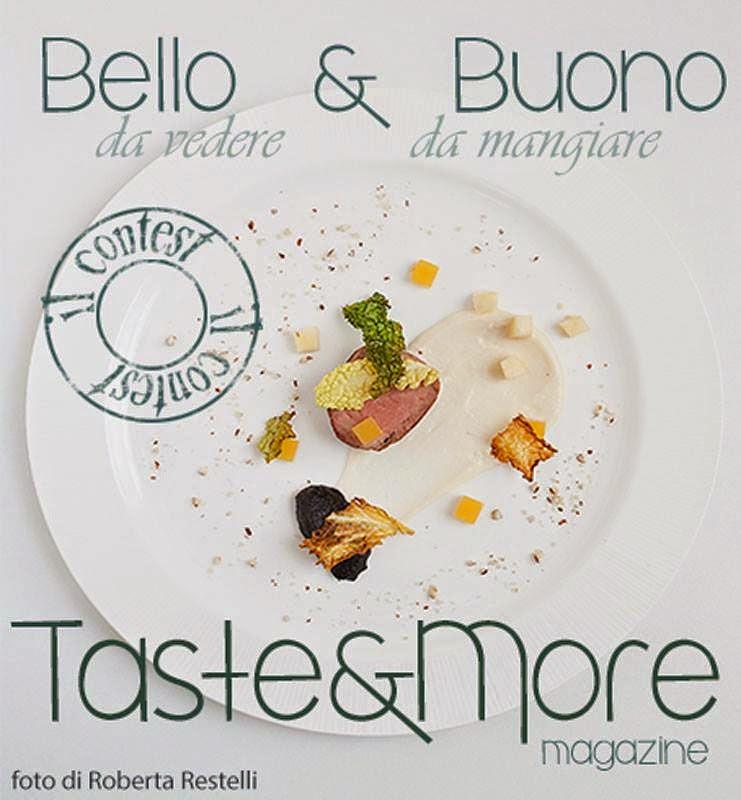Logo del contest sull'impiattamento dl magazine Taste&More