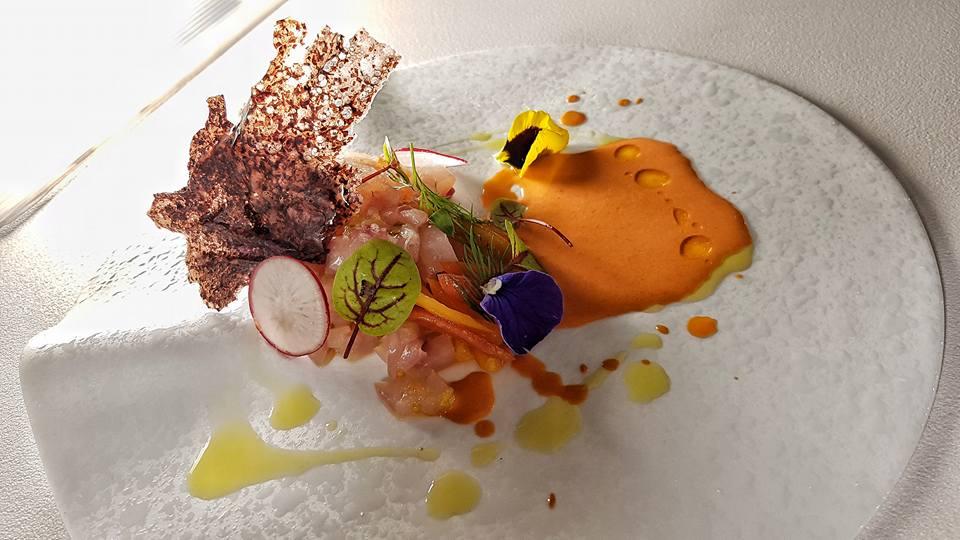 impiattamento dello chef Stefano de Gegorio