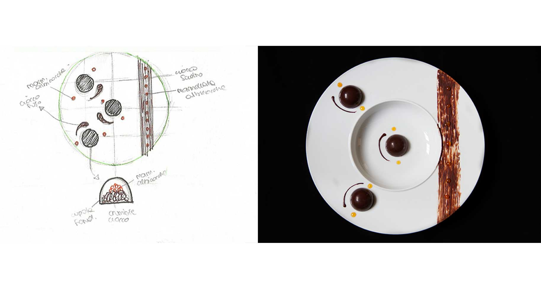 Impiattamento per contest Taste&More realizzato dalla food blogger Nicol Pini del blog Col Cavolo