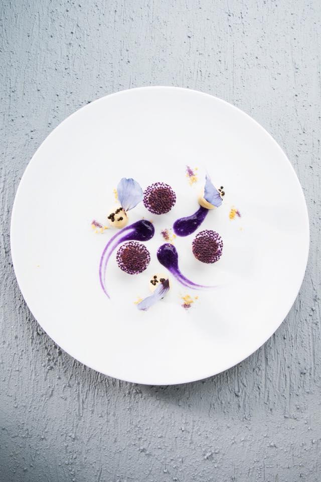 Impiattamento della chef Daniela Cicioni