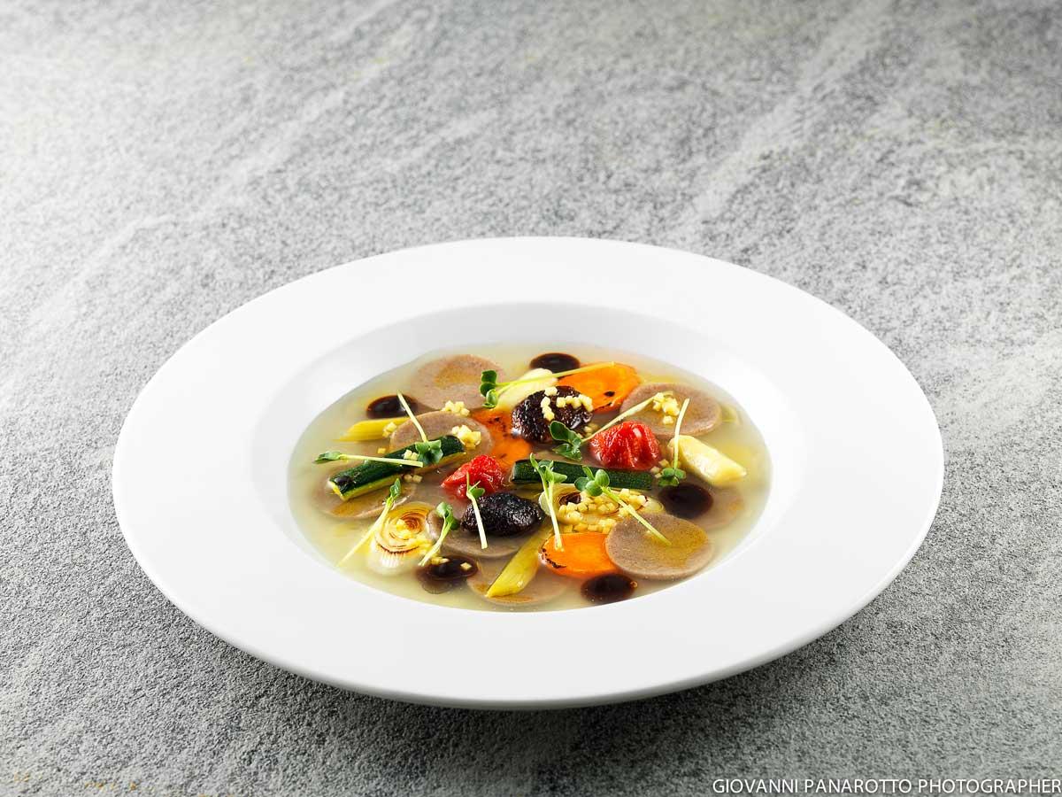Impiattamento del ristorante Joia - Milano